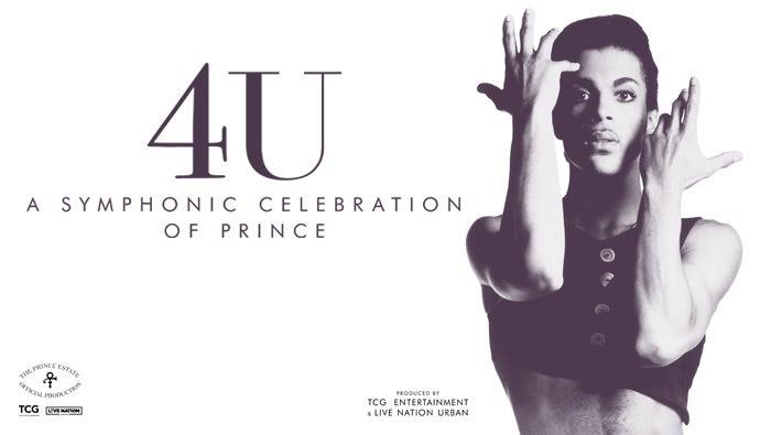 Resultado de imagen de 4U: A Symphonic Celebration of Prince