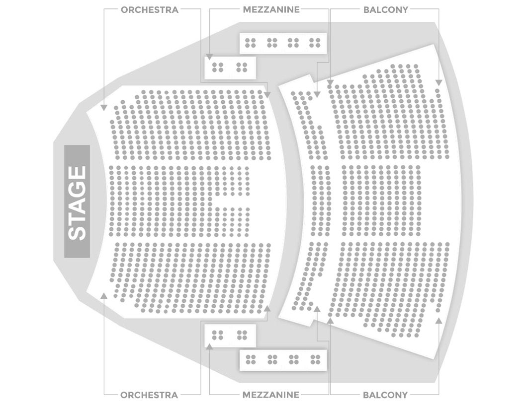 Seating charts sevenvenues