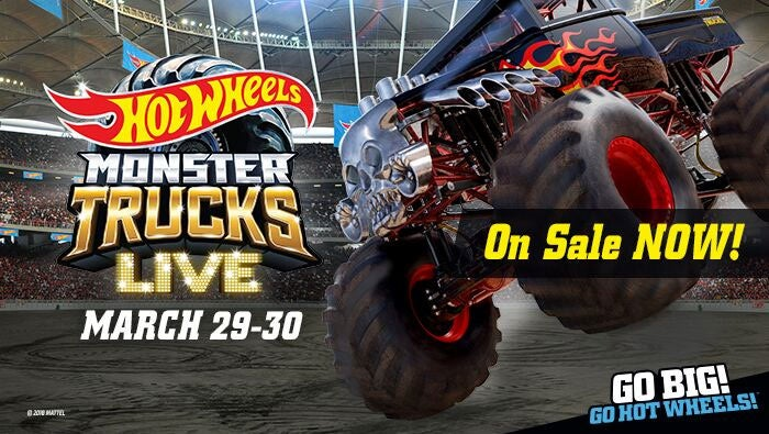 Hot Wheels Monster Trucks Live Sevenvenues